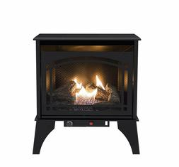 20,000 BTU Dual Fuel Vent Free Gas Wall Compact Stove Heater