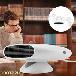 Adjustable 1800W Portable Electric Space Heater Fan Air Warm