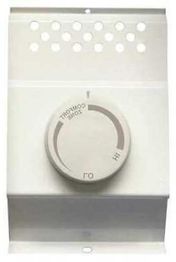 CADET BTF1W Heater Mounted Thermostat, 1 Pole, 25A