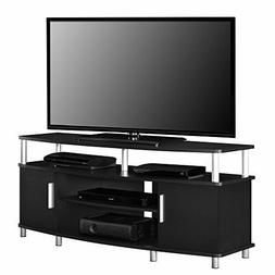 Ameriwood Home Carson 50-inch Black TV Stand
