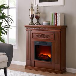 electric fireplace heater tv stand real flame
