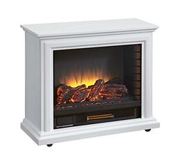Pleasant Hearth GLF-5002-50 Sheridan Mobile Fireplace - Whit