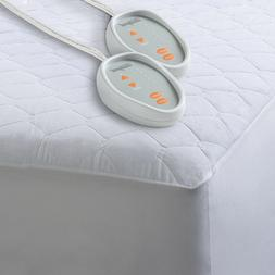 heated mattress pad bed warmer dual control