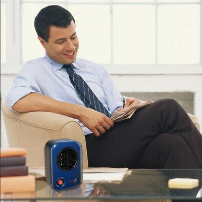 Personal Electric Space Heater, Blue