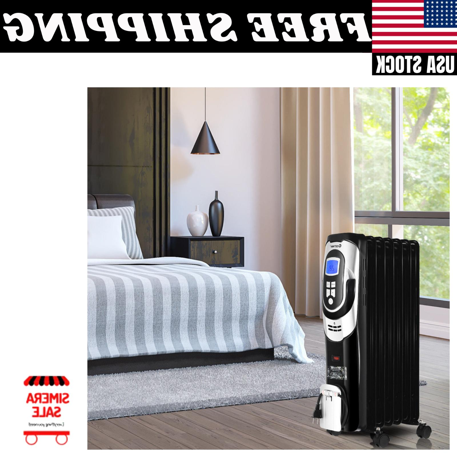 1500W Electric Filled Heater Safety Shut-Off