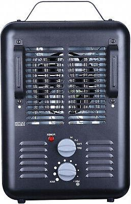 1500W PORTABLE UTILITY HEATER Forced Space