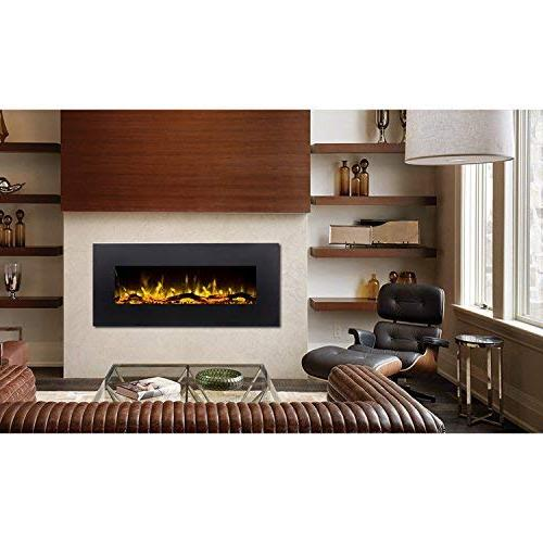 "Regal Flame Ashford 50"" Ventless Heater Electric Mounted Better Than Wood Gas Fireplace Log Sets, Gas Fireplaces, Space"