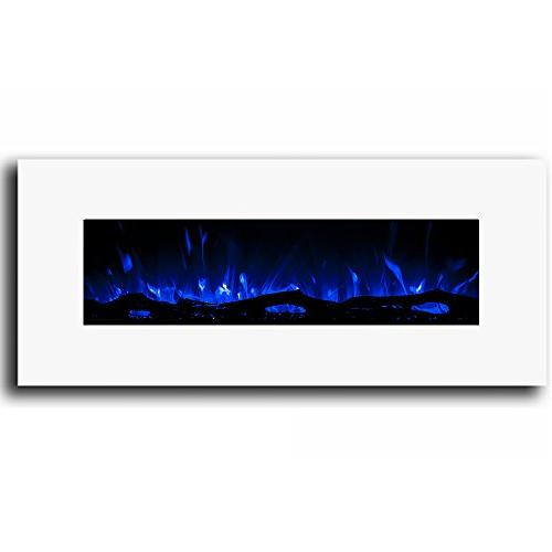 "Regal 50"" Ventless Electric Wall Fireplace Better Wood Fireplaces, Gas Logs, Fireplace Log Sets, Space Heaters,"