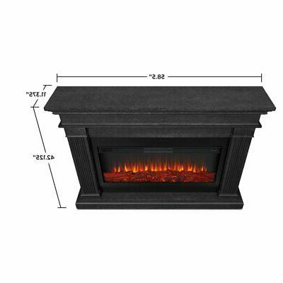 Real Beau Electric Fireplace in Gray