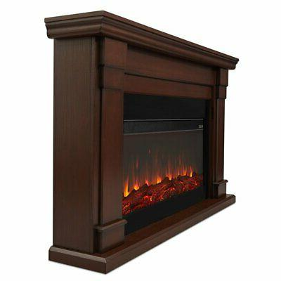 Real Flame Fireplace Chestnut