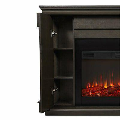 Real Fireplace in