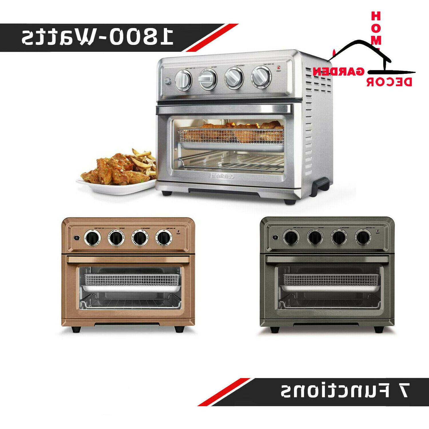 convection toaster oven air fry broil bake