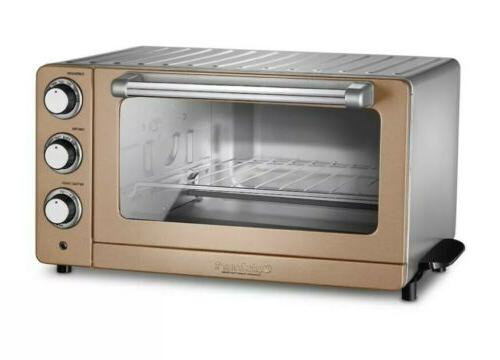 copper stainless convection toaster oven broiler warmer