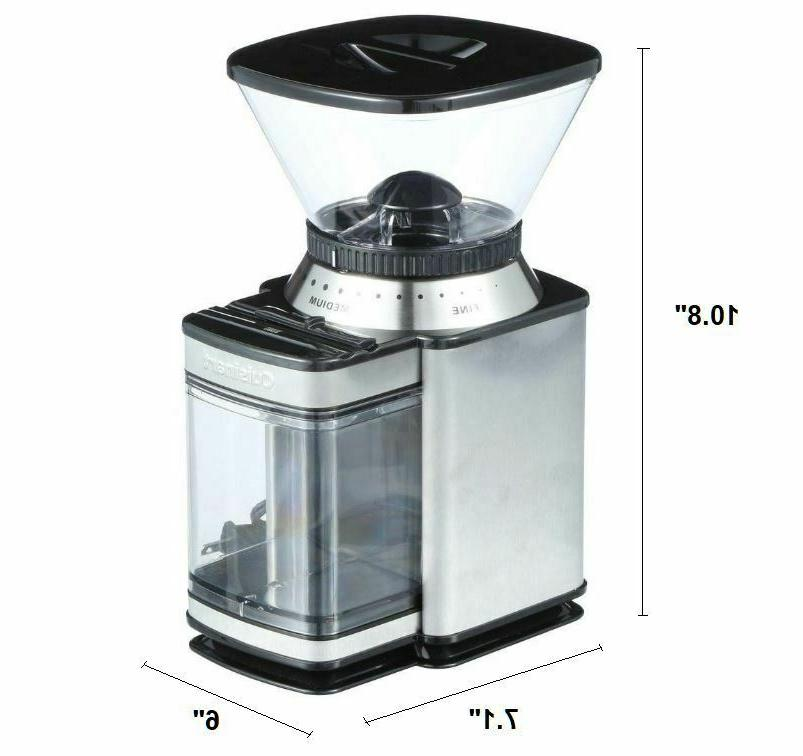 Cuisinart DBM-8 Automatic Burr Silver - Free Shipping - NEW