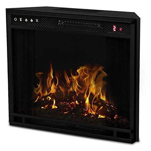 Regal Ventless Heater Insert, Black - 3 Color Changing
