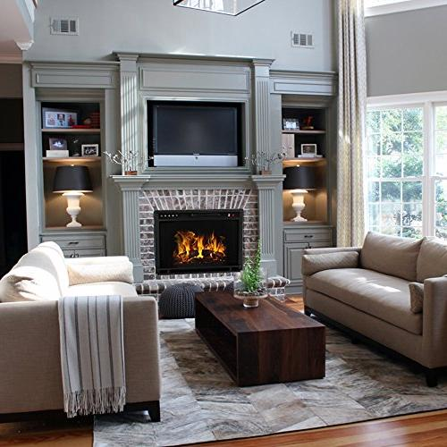 Regal Ventless Electric Fireplace Insert, 3 Settings
