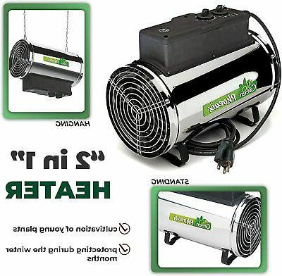 Greenhouse Workshop Heater 3,412 to 9,553