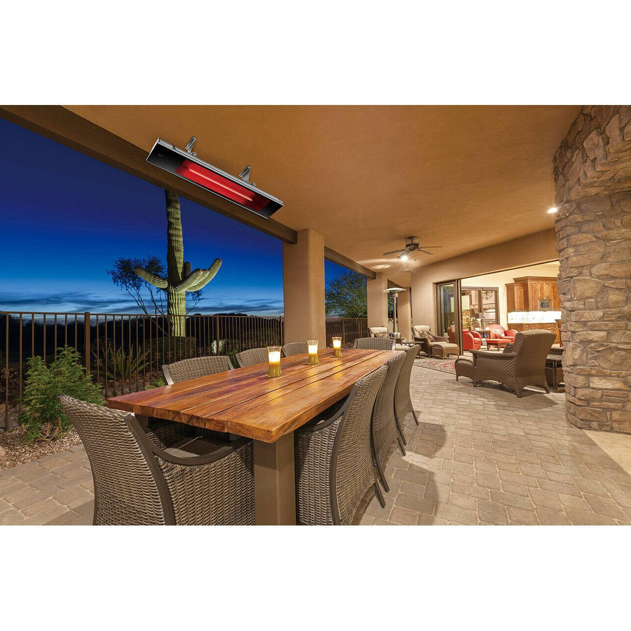 Dimplex Indoor/Outdoor Electric Heater - Remote Control