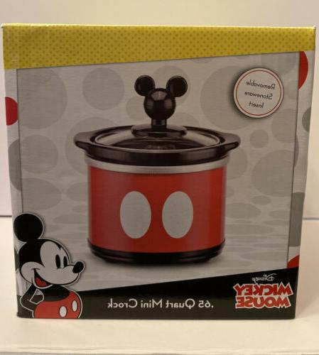 mickey mouse 65 mini crock for dips