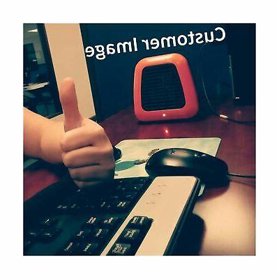 Givebest Space 400W Low Personal Desk Heater with Tip-Ov...