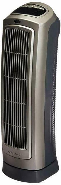 Lasko Oscillating Ceramic Heater Tower with Remote Control &
