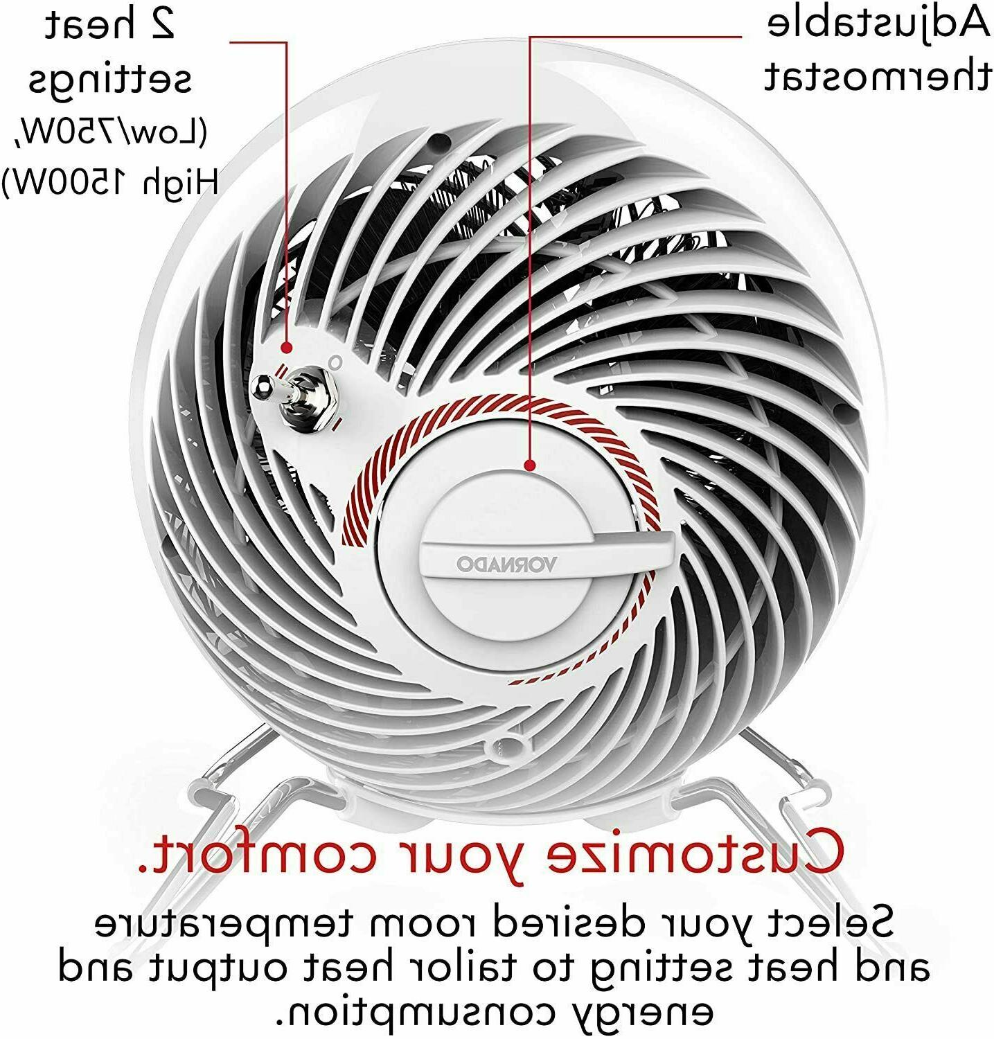 Vornado Electric Space Heater with 20-Degrees of
