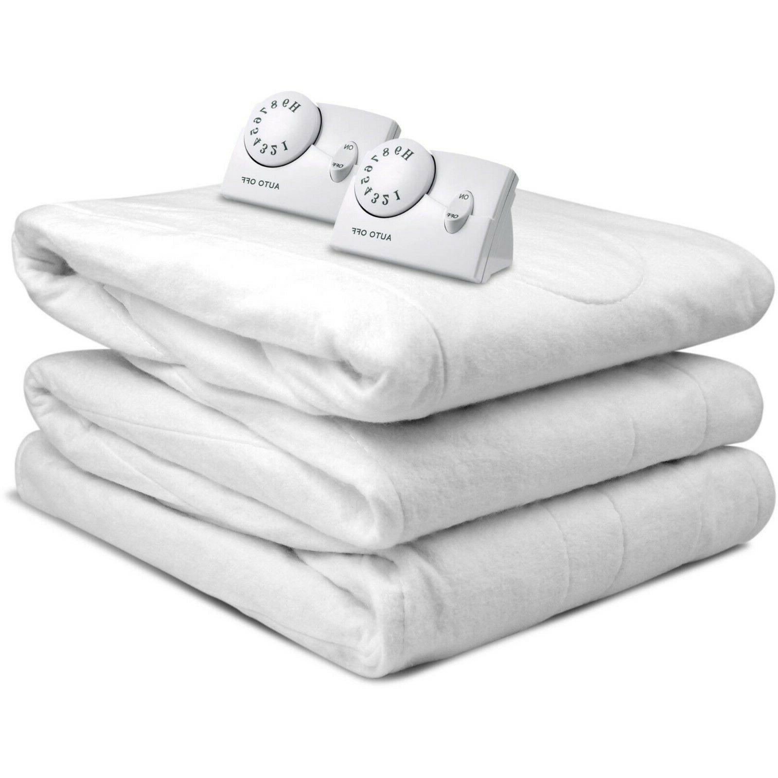 queen electric heated mattress pad
