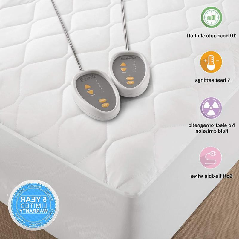 Quilted Mattress Mattress Pad Electric Bed Cover