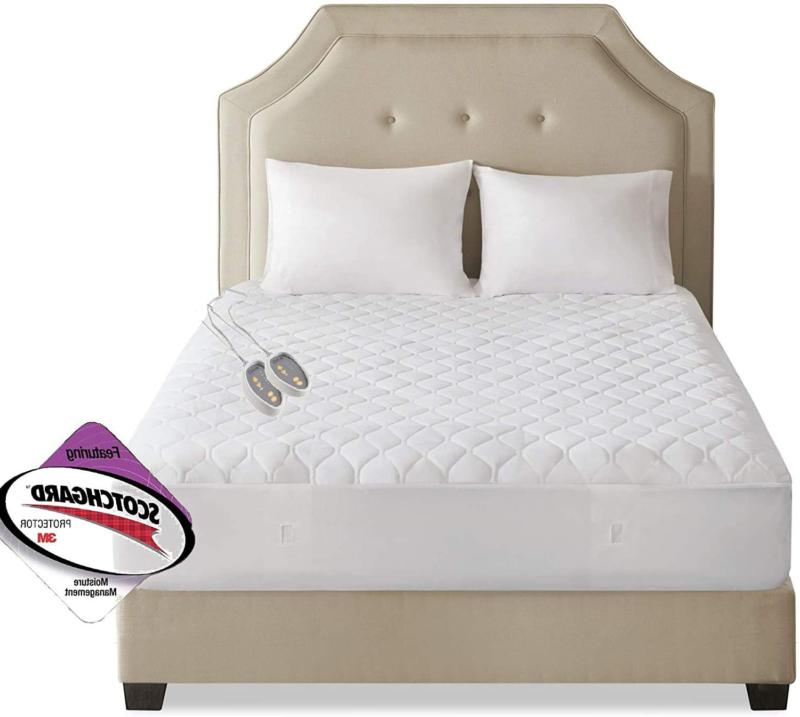 Quilted Heated Mattress Mattress Bed Cover