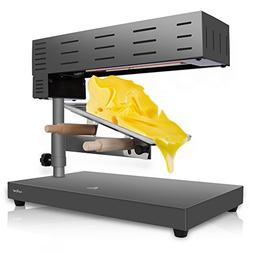 NutriChef PKCHMT17 Raclette Cheese Melter Swiss-Style Counte