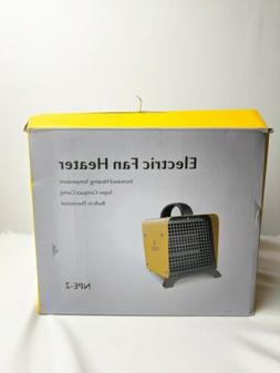 portable little electric space heater 1500w utility