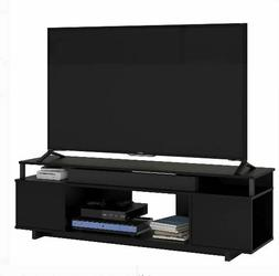 "TV Stand 65"" Flat Screen Entertainment Center Media Console"