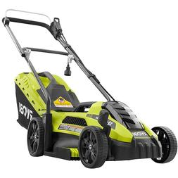 Walk Behind Push Mower Corded Electric 13 in. 11 Amp Lawn Mo