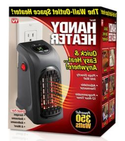 Ontel 350-Watt Wall Outlet Handy Heater Personal Space Heate
