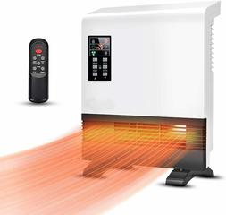 Wall Mounted or Standing Heater,1500W, Fast heating, Energy